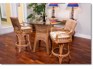 Island Way Pub Table Set of 3