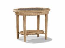 Lane Venture Moorings Oval End Table