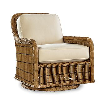 Lane Venture Rafters Swivel Glider Lounge Chair
