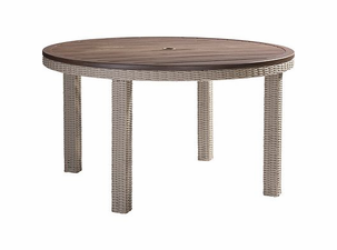 "Lane Venture Requisite Wicker 52"" Round Dining Table"