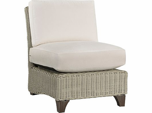 Lane Venture Requisite Wicker Armless Chair