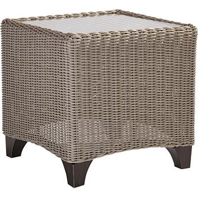Lane Venture Requisite Wicker End Table