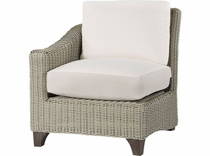 Lane Venture Requisite Wicker Left Facing Chair