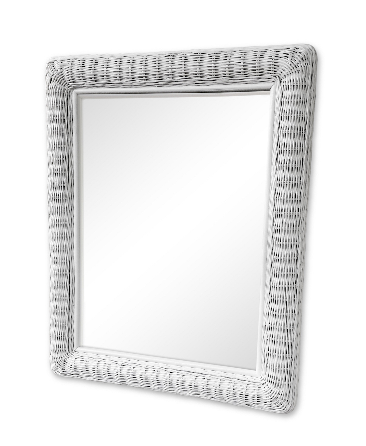 Large Rectangular Wicker Mirror Wicker Paradise
