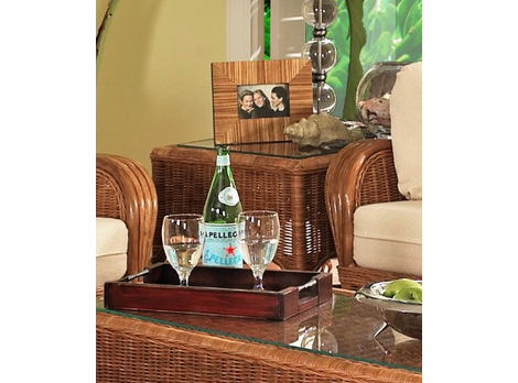 Concord Rattan End Table
