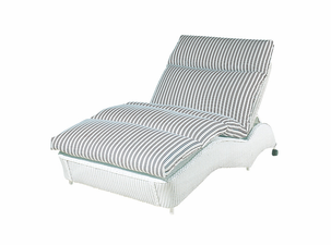 Lloyd Flanders Double Chaise Lounge Replacement Cushion