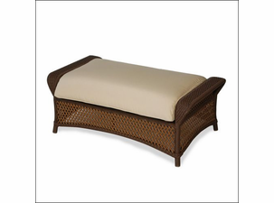 Lloyd Flanders Grand Traverse Large Ottoman Replacement Cushion