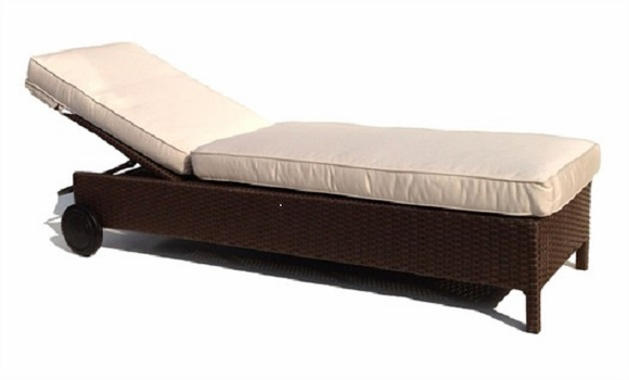 Malibu Outdoor Wicker Adjustable Chaise