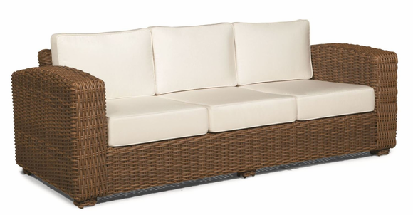 Outdoor Wicker Sofa   Monaco