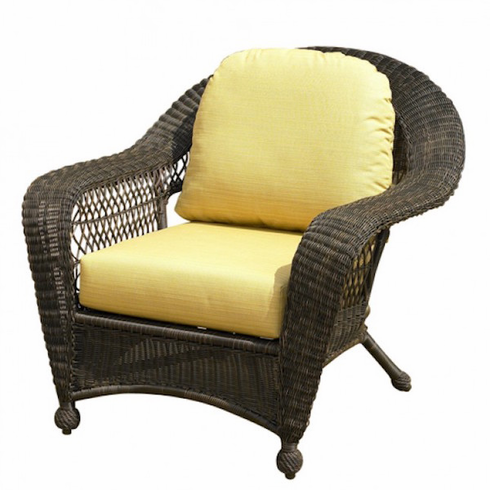 North cape charleston chair replacement cushion - Replacement cushions for wicker patio furniture ...