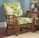 Oak Brook Rattan Chair