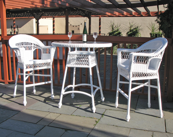 Outdoor Wicker Bar Set - Cape Cod