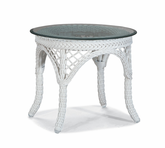 Outdoor Wicker End Table Savannah