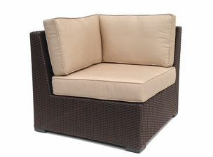 Outdoor Wicker Sectional Corner