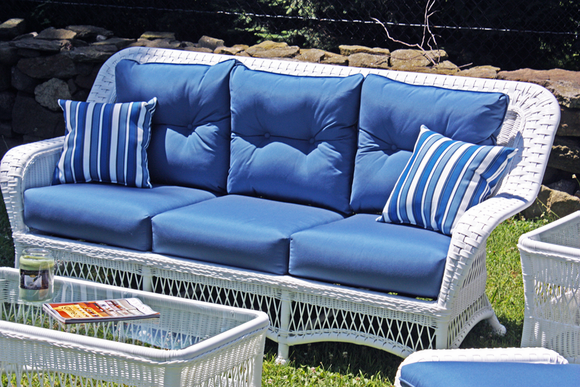 Outdoor Wicker Sofa - Princeton