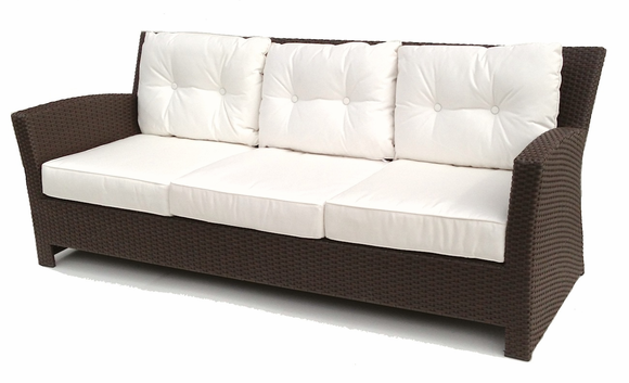 Outdoor Wicker Sofa - Sonoma