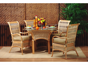 Palm Bay Rattan Dining Set