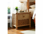 Palm Bay Rattan Nightstand