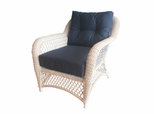 Patio Wicker Chair with Sunbrella- Seville Collection