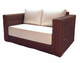 Outdoor Wicker Loveseat - Santa Barbara