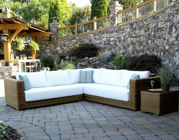 Outdoor Wicker Sectional - Santa Barbara