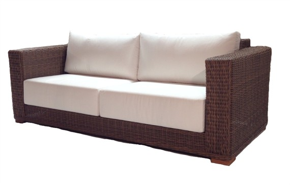 Outdoor Wicker Sofa - Santa Barbara