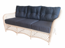 Patio Wicker Sofa with Sunbrella- Seville Collection