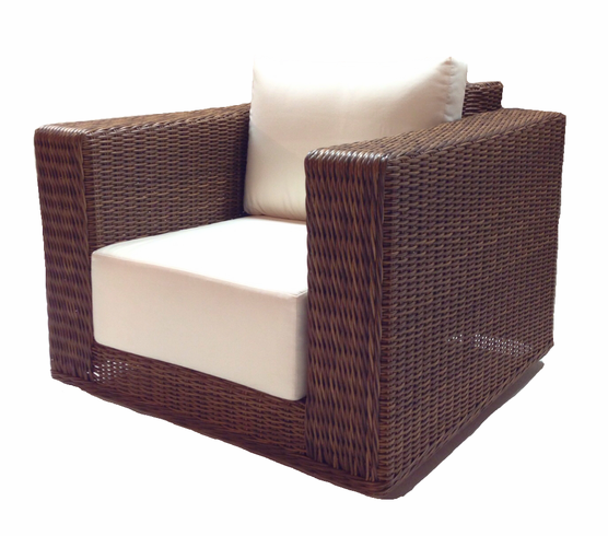 patio wicker swivel chair santa barbara