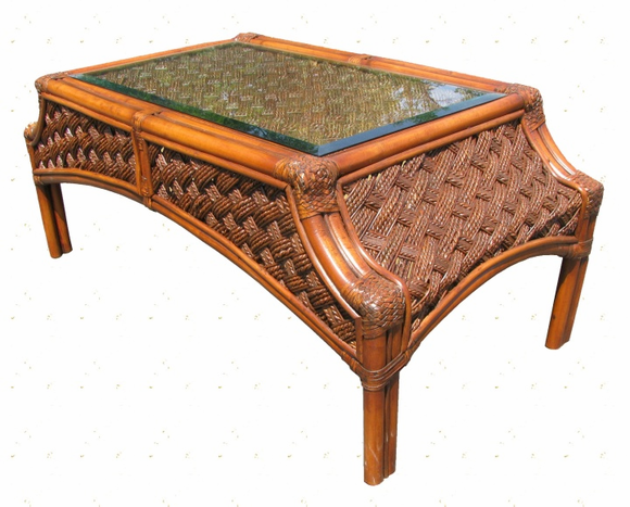 Rattan Coffee Table Melbourne Wicker Paradise