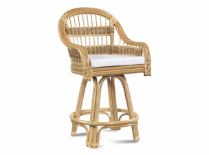 Rattan Counter Stool: Tropical Breeze