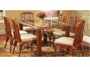 Rattan Dining Set   Chesapeake Bay