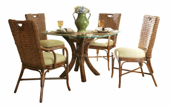 rattan dining set marquesa wicker paradise. Black Bedroom Furniture Sets. Home Design Ideas