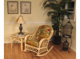 Rattan Rocker St. Thomas Collection