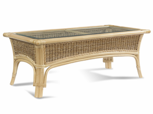 Rattan Table: Tropical Breeze Coffee Table