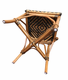 Safari Rattan Armless Dining Chairs - Set of 2
