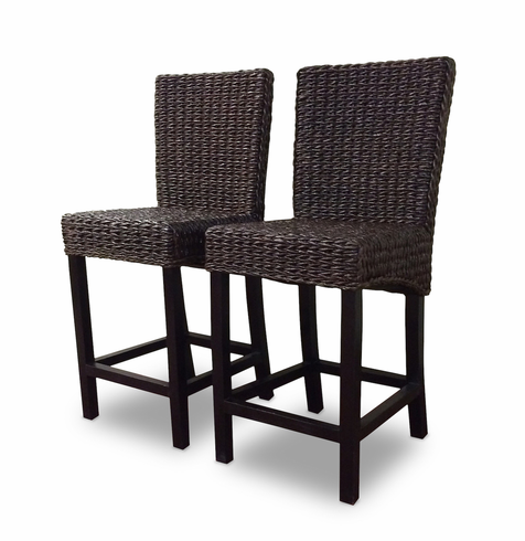 Seagrass Bar Stool Set Of 2 Barbados
