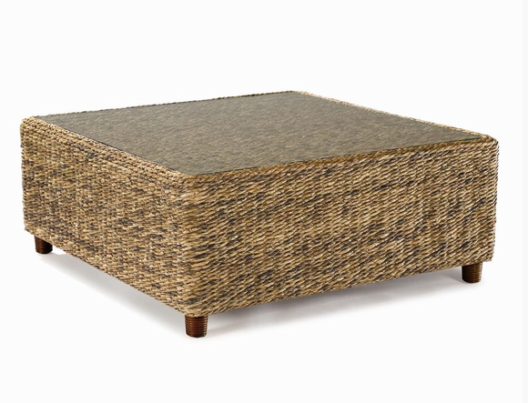 Charmant Seagrass Coffee Table   Tangiers