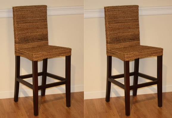 seagrass counter stool maui wicker paradise. Black Bedroom Furniture Sets. Home Design Ideas