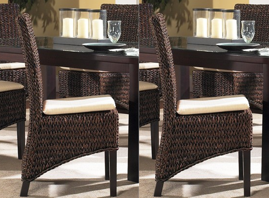Seagrass Dining Chairs | Barbados Set of 2