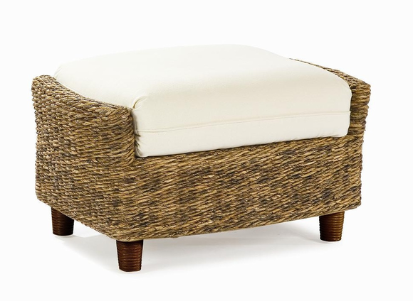 Seagrass Ottoman - Tangiers