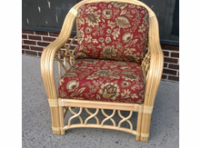 St. Thomas Rattan chair