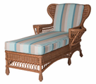 Summersville Wicker Chaise Lounge