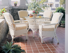 Summersville Wicker Dining Set of 5