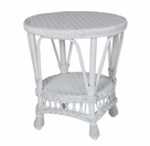 Summersville Wicker End Table
