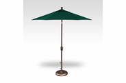 Treasure Garden QUICKSHIP 7.5 Foot Push Button Tilt Umbrella