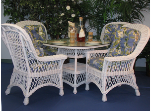 Vineyard Wicker Dining set of 5