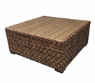 Westbury Square Outdoor Wicker Chat Table