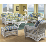 White Wicker Lanai Collection