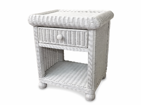 Wicker Nightstands Rattan Tables