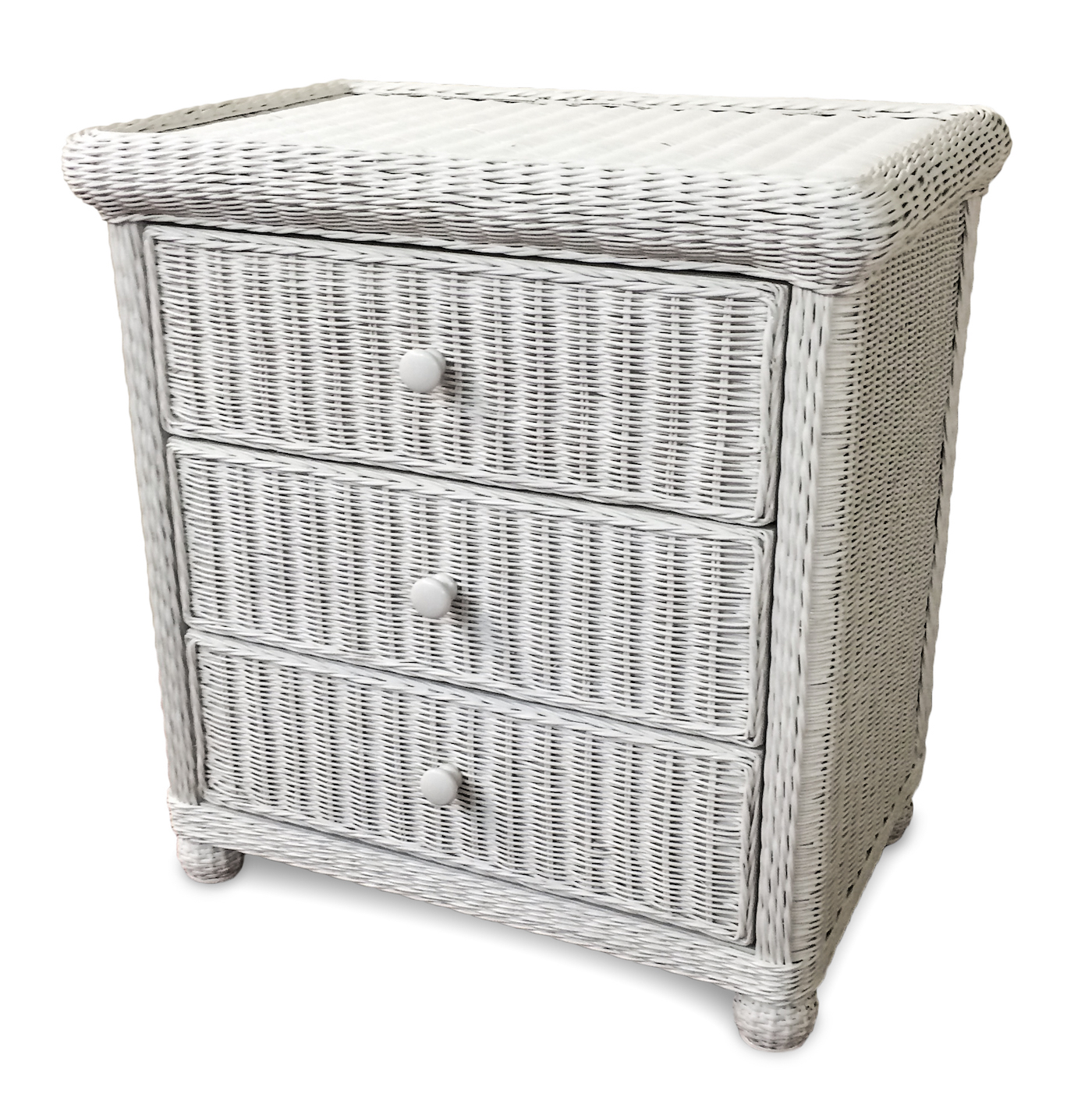 Attractive Wicker 3 Drawer Dresser - Elana | Wicker Paradise KU38